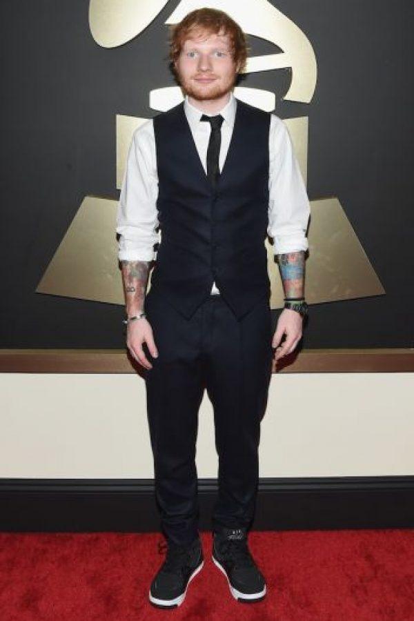 Su nombre real es Edward Christopher Sheeran Foto:Getty Images