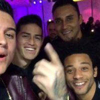 En el grupo no cayó muy bien que publicara sus fotos, después de la goleada que le propinó 4-0 Atlético de Madrid al Real Madrid Foto:Instagram: @kevinroldankr