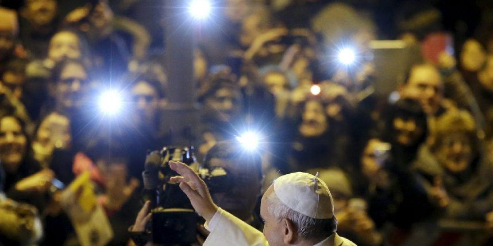 Por eso se ha ganado el corazón de los feligreses. Foto:AP