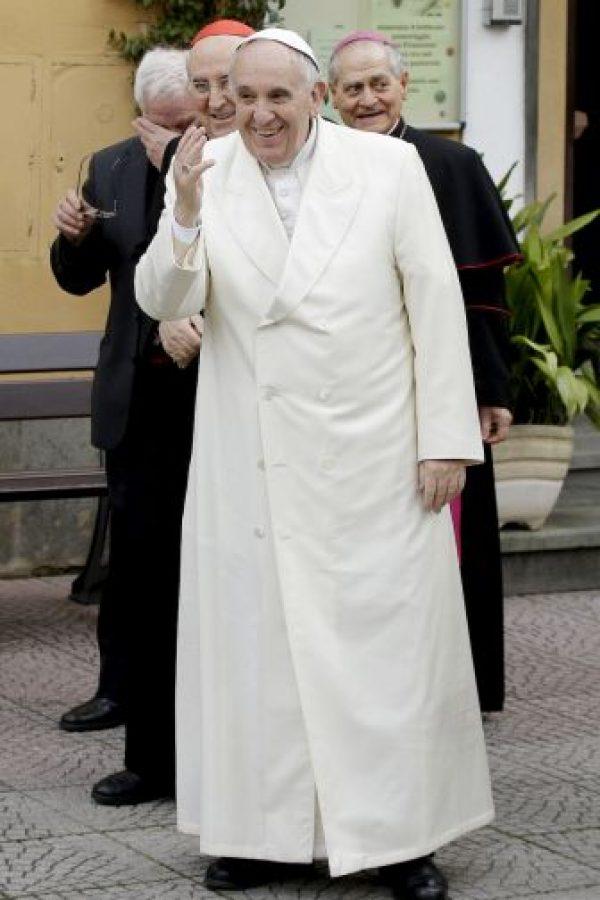 Francisco sigue sorprendiendo con sus acciones. Foto:AP