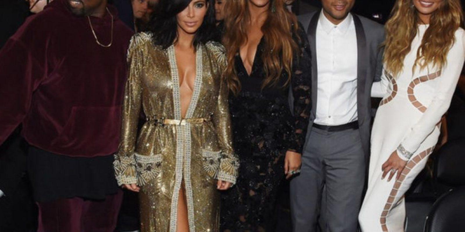 Pero en los Grammy de este año volvieron a coincidir. Foto:Getty Images