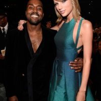 Lo mismo pasó con Taylor Swift y Kanye West. Foto: Getty Images