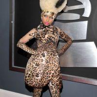 """Nicki Minaj en 2011, emulando a """"La Tigresa del Oriente"""" o a la reina de los Oompa Loompas. Foto:Getty Images"""