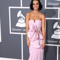 Katy Perry en 2009, con una combinación que luciría mejor para premios cinematográficos. Foto:Getty Images