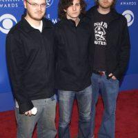 Coldplay, quienes no dejaban su estilo desaliñado inglés en 2002. Foto:Getty Images