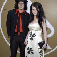 "Jack White con Meg, cuando todavía eran los ""White Stripes"". Foto:Getty Images"