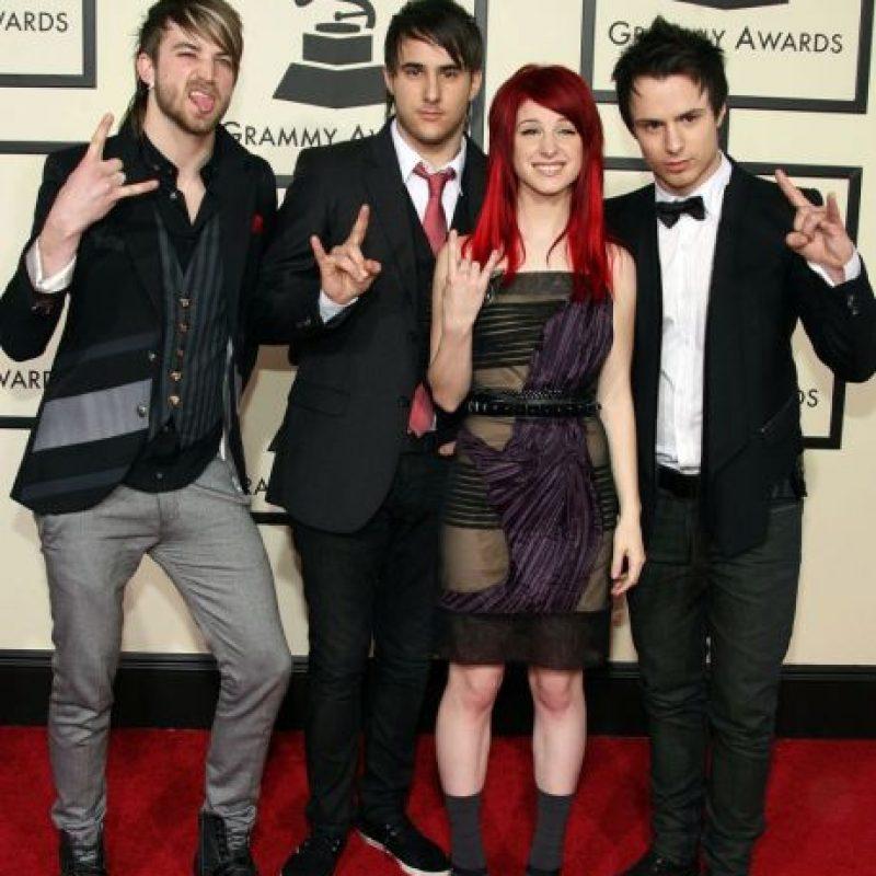 Paramore, en 2008. Foto:Getty Images