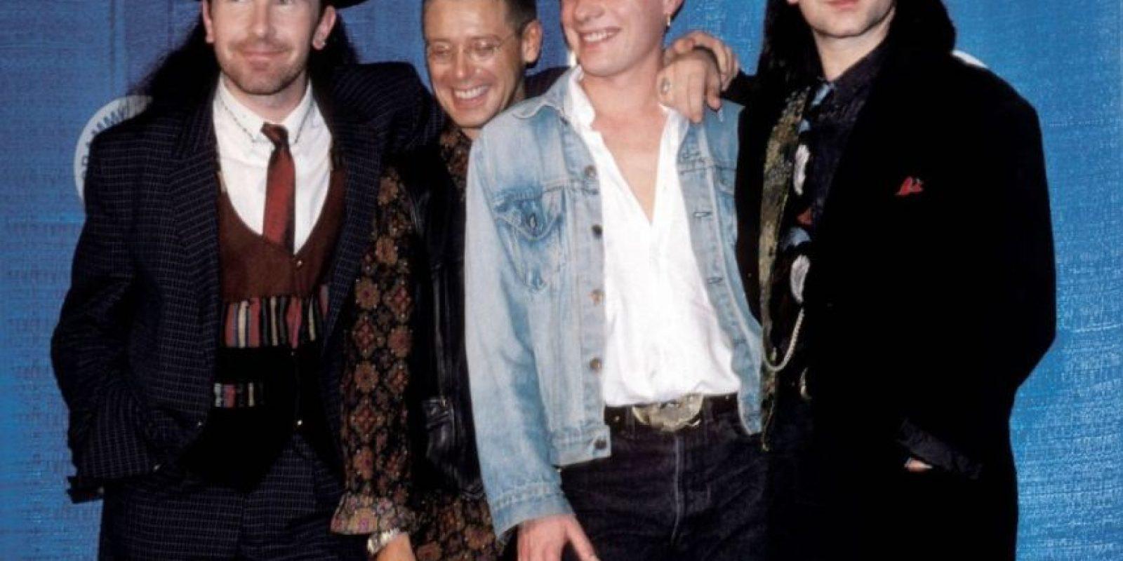 U2, en 1988. Foto:Getty Images