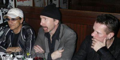 """Bono se ha vuelto """"cool"""" y los otros evolucionaron según las décadas. Foto:Getty Images"""