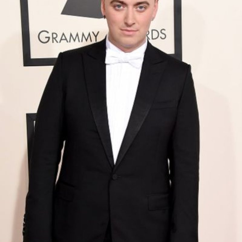 Sam Smith, impecable en smoking. Foto:Getty Images