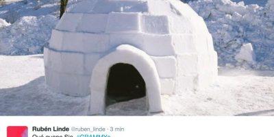 O aun iglú. Foto:Twitter