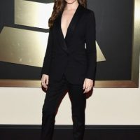 Anna Kendrick, impecable de negro. Foto:Getty Images
