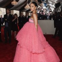 Rihanna iba para sus 15 años. Foto:Getty Images