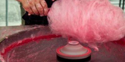 O con algodón de azúcar. Foto:Twitter
