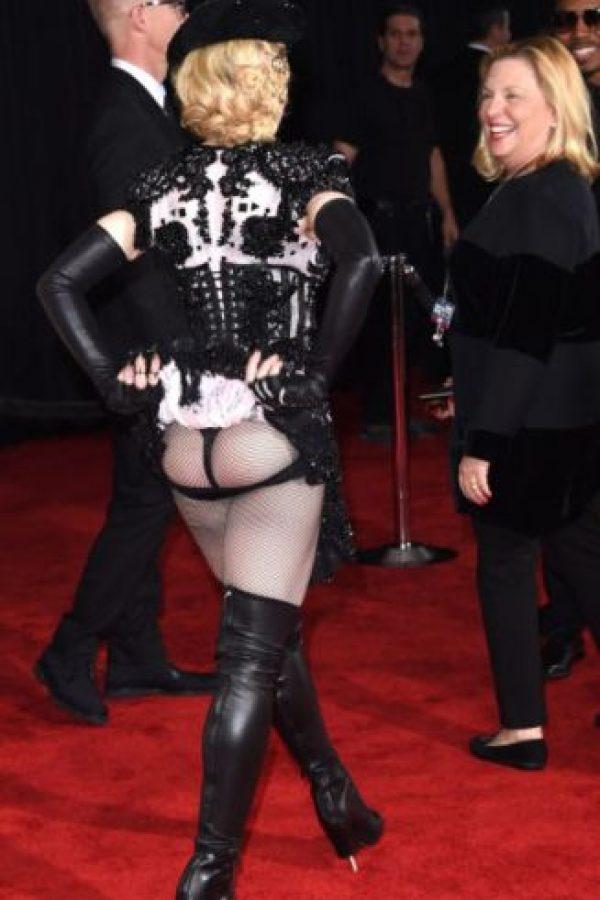 Madonna, con su polémico atuendo. Foto:Getty Images