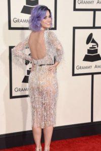 Katy Perry, despampanante en su Zuhair Murad. Foto:Getty Images