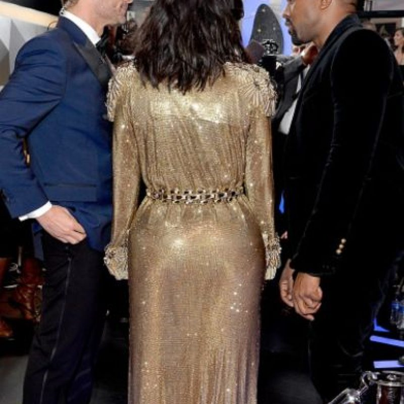 Así lucía por detrás. Foto:Getty Images