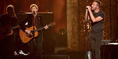 También actuó con Chris Martin. Foto:Getty Images