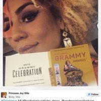 Joy Villa sabía qué usar para los Grammy 2015 Foto:Joy Villa/Instagram