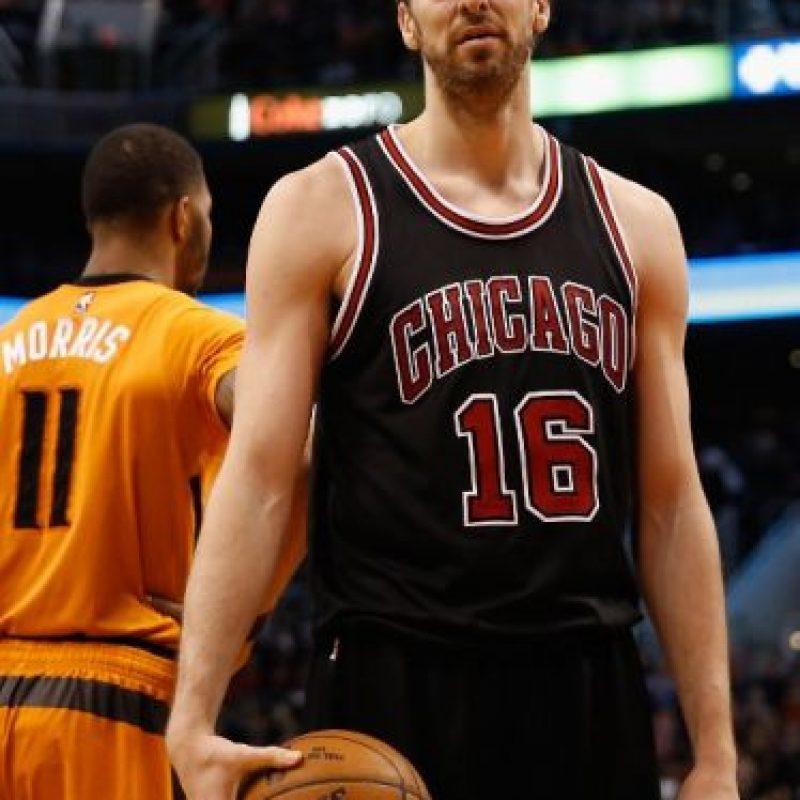 Marc y Pau se convertirán en los primeros hermanos que juegan el All-Star Game de la NBA Foto:AFP