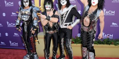 Gene Simmons, Eric Singer, Tommy Thayer y Paul Stanley Foto: Getty Images