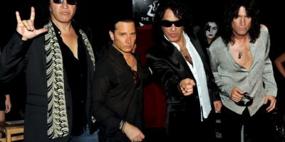 Gene Simmons, Eric Singer, Paul Stanley y Tommy Thayer Foto: Getty Images