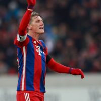 El futbolista alemán del Bayern Múnich sale desde el año pasado con la tenista serbia Foto:Getty