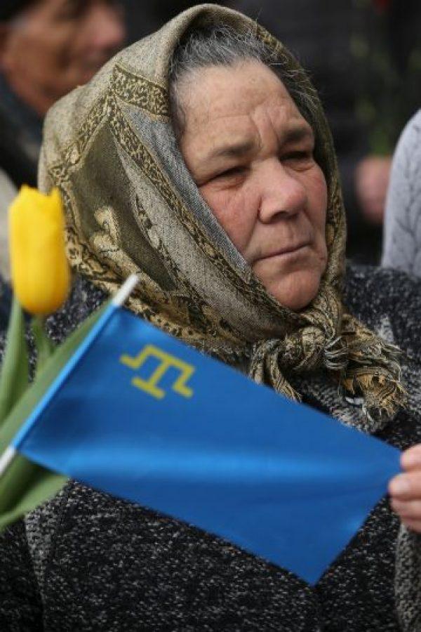 Muchos ucranianos han perdido a sus familiares. Foto:Getty Images