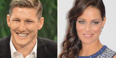 Bastian Schweinsteiger y Ana Ivanovic Foto:Twitter