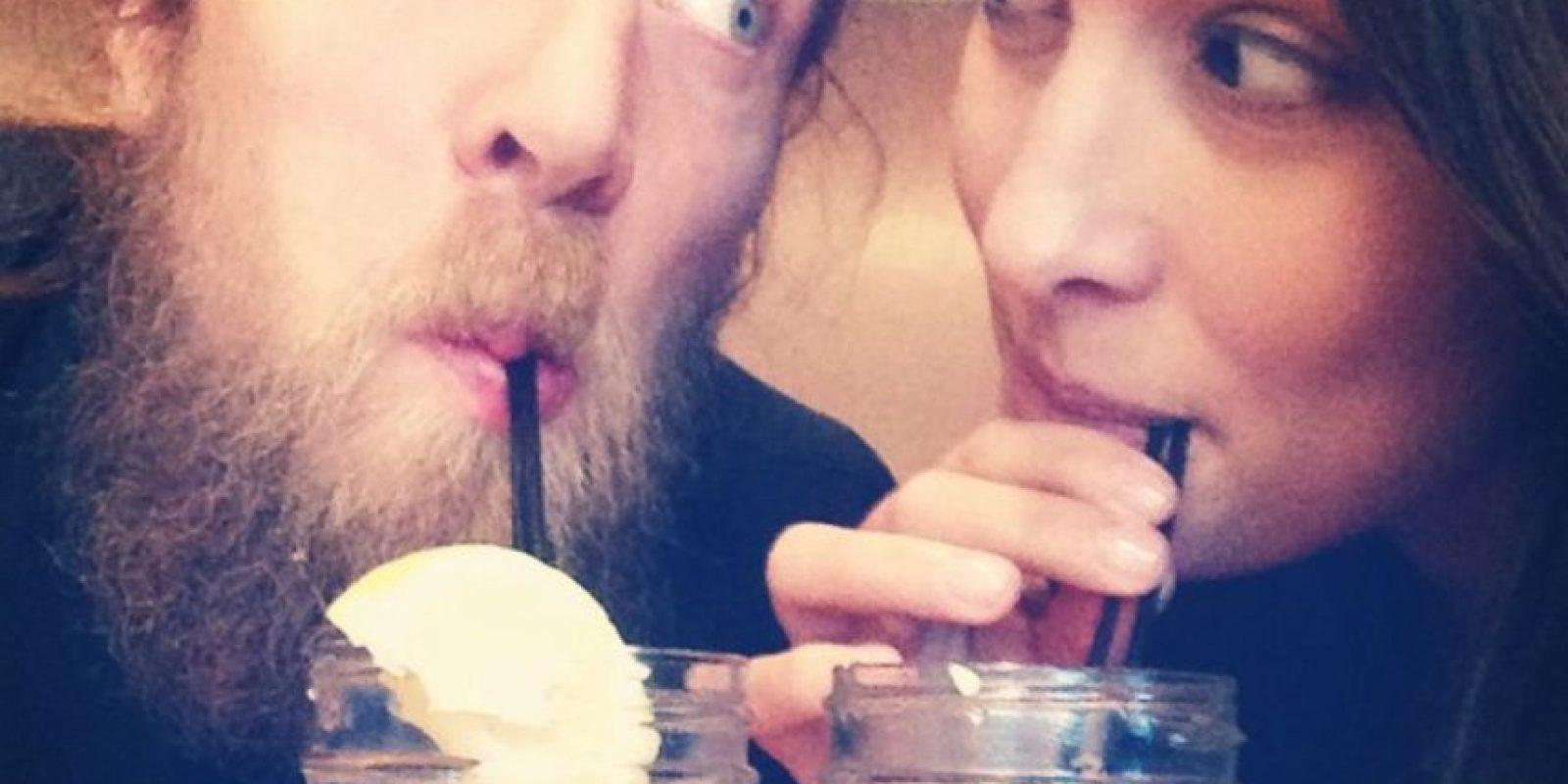 Daniel Bryan y la diva Brie Bella también se encontraron en la WWE Foto:WWE
