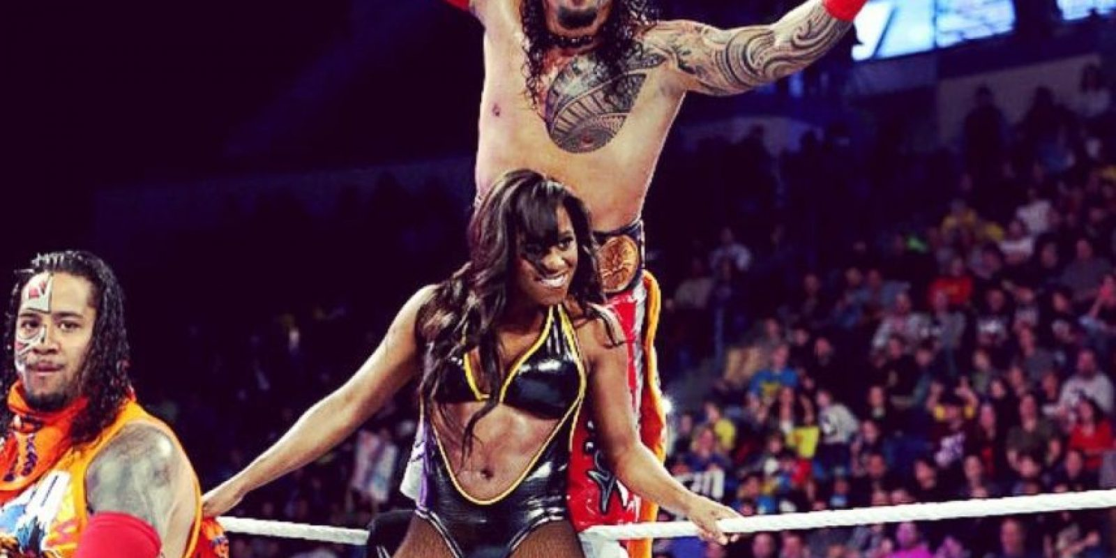 Es pareja de Naomi Foto:WWE