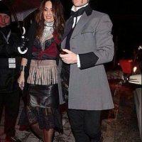 Xabi Alonso junto a su pareja Foto:Twitter