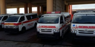 FOTOS. Bomberos Voluntarios adquieren 18 ambulancias