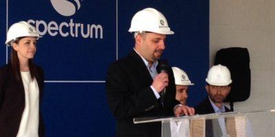 FOTOS. Colocan la primera piedra de un nuevo Centro Comercial Condado Naranjo