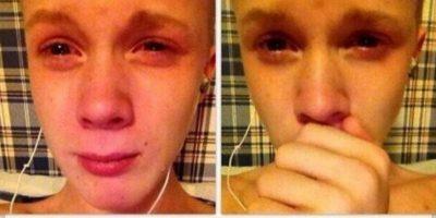 El que llora por su Emma. Foto:Facebook