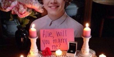 La que se casó con Harry Styles Foto:Tumblr