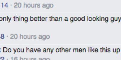 De inmediato, comenzaron los comentarios en la web sobre este adoptante tan guapo. Foto:Facebook