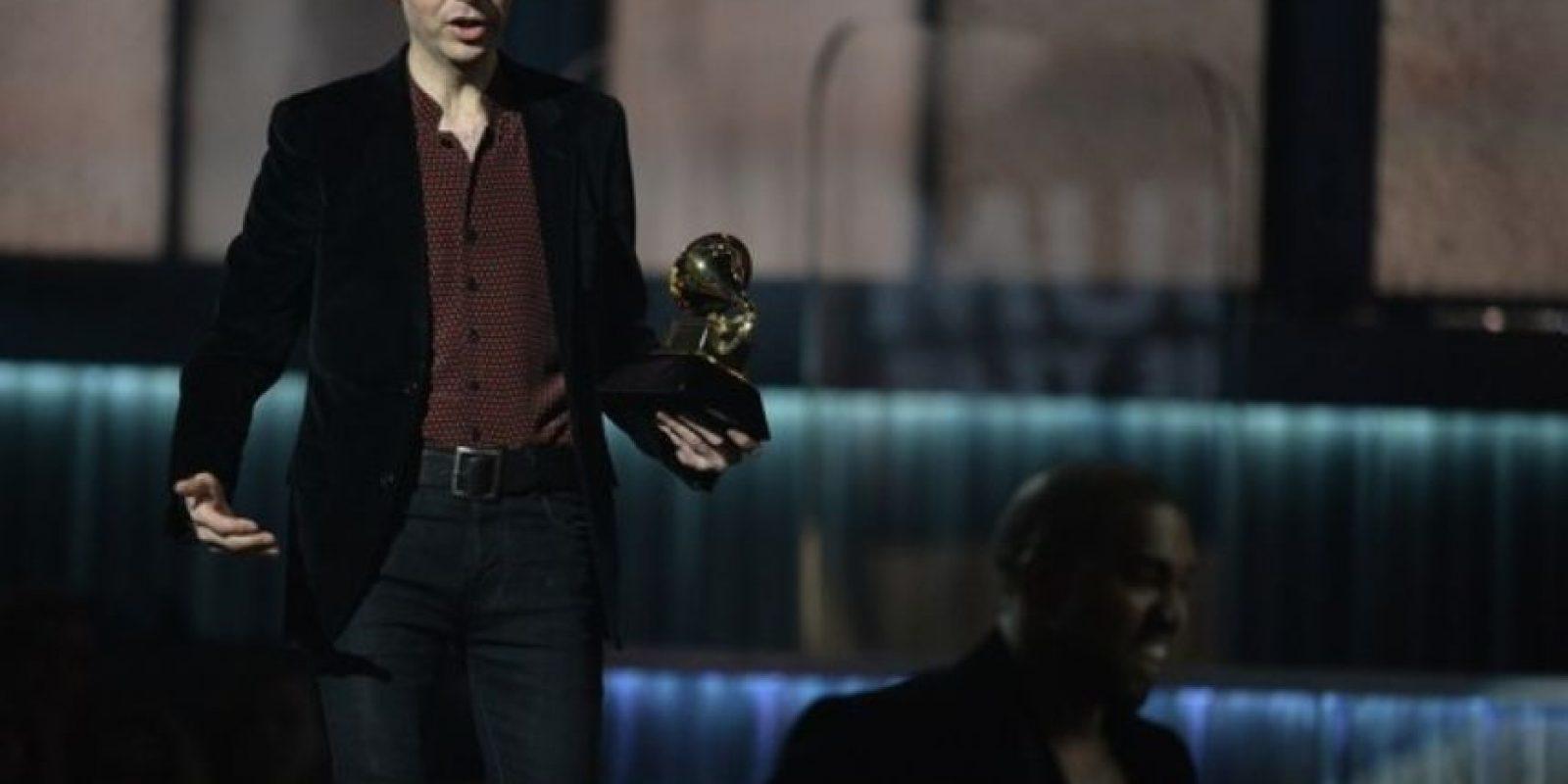 Apenas Beck le ganó a Beyonce, Kanye West quiso boicotearlo. Foto:Getty Images