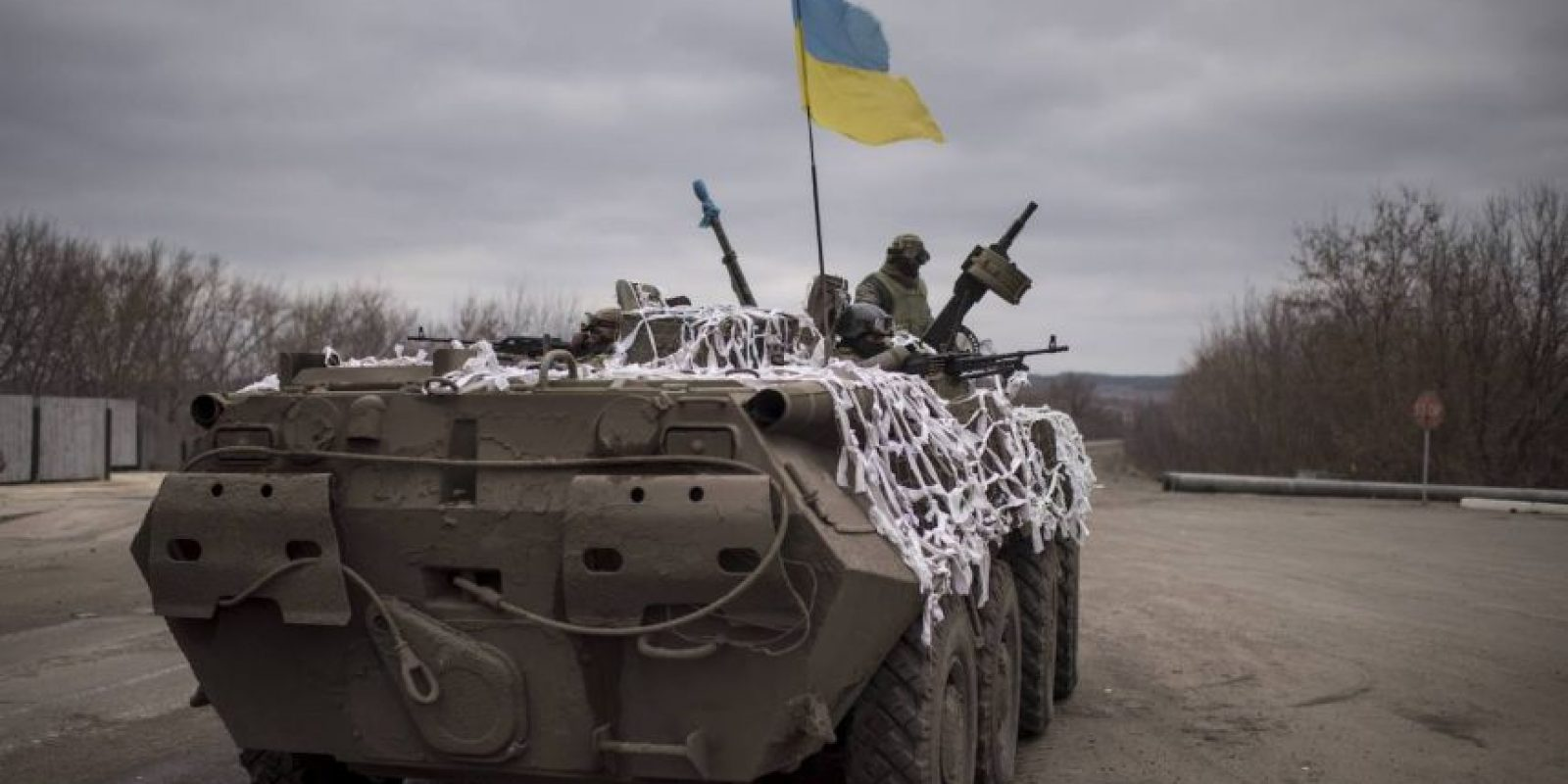 La disputa son varios territorios de Ucrania. Foto:AP
