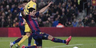 El cuadro azulgrana superó en su casa al Villarreal y se puso a 90 minutos de la clasificación. Foto:AFP
