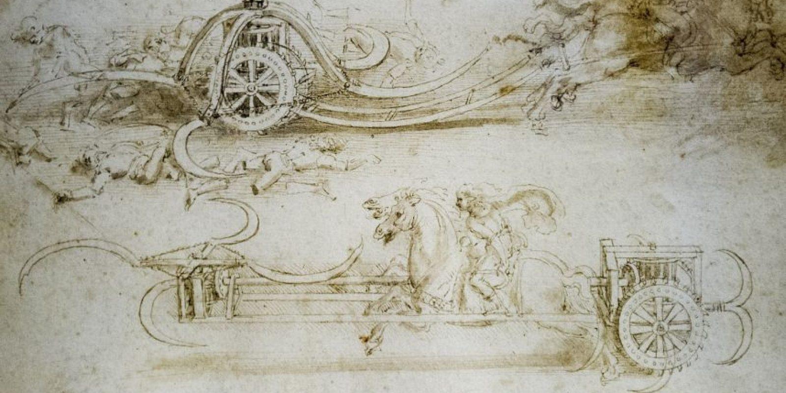 Leonardo fue un gran inventor. Foto:Getty Images