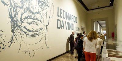Las obras de Da Vinci han sido expuestos en gran parte de Europa. Foto:Getty Images