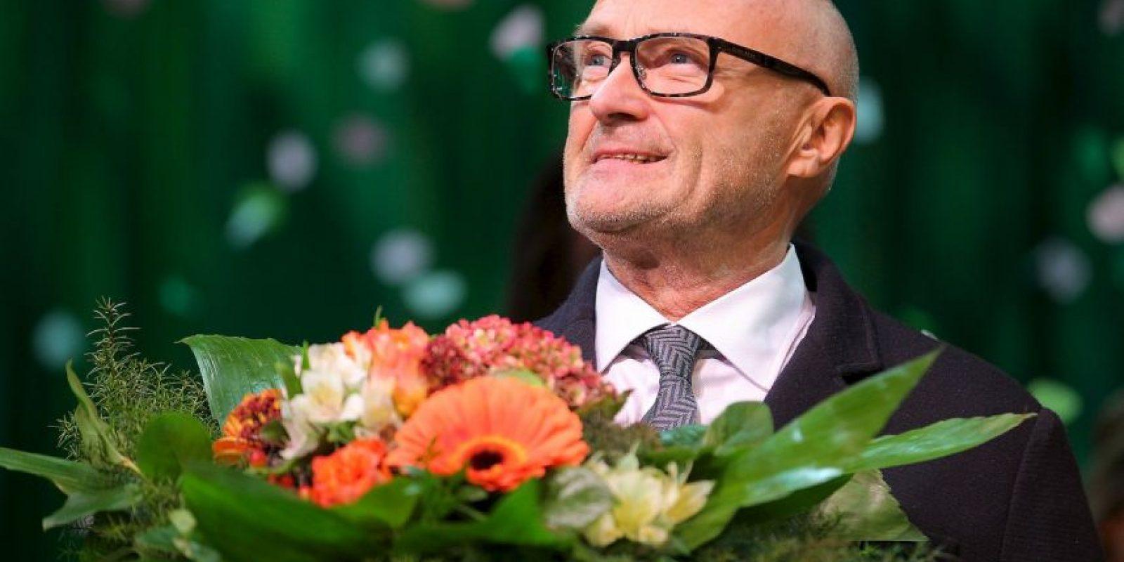 Phil Collins, músico británico Foto:Getty Images
