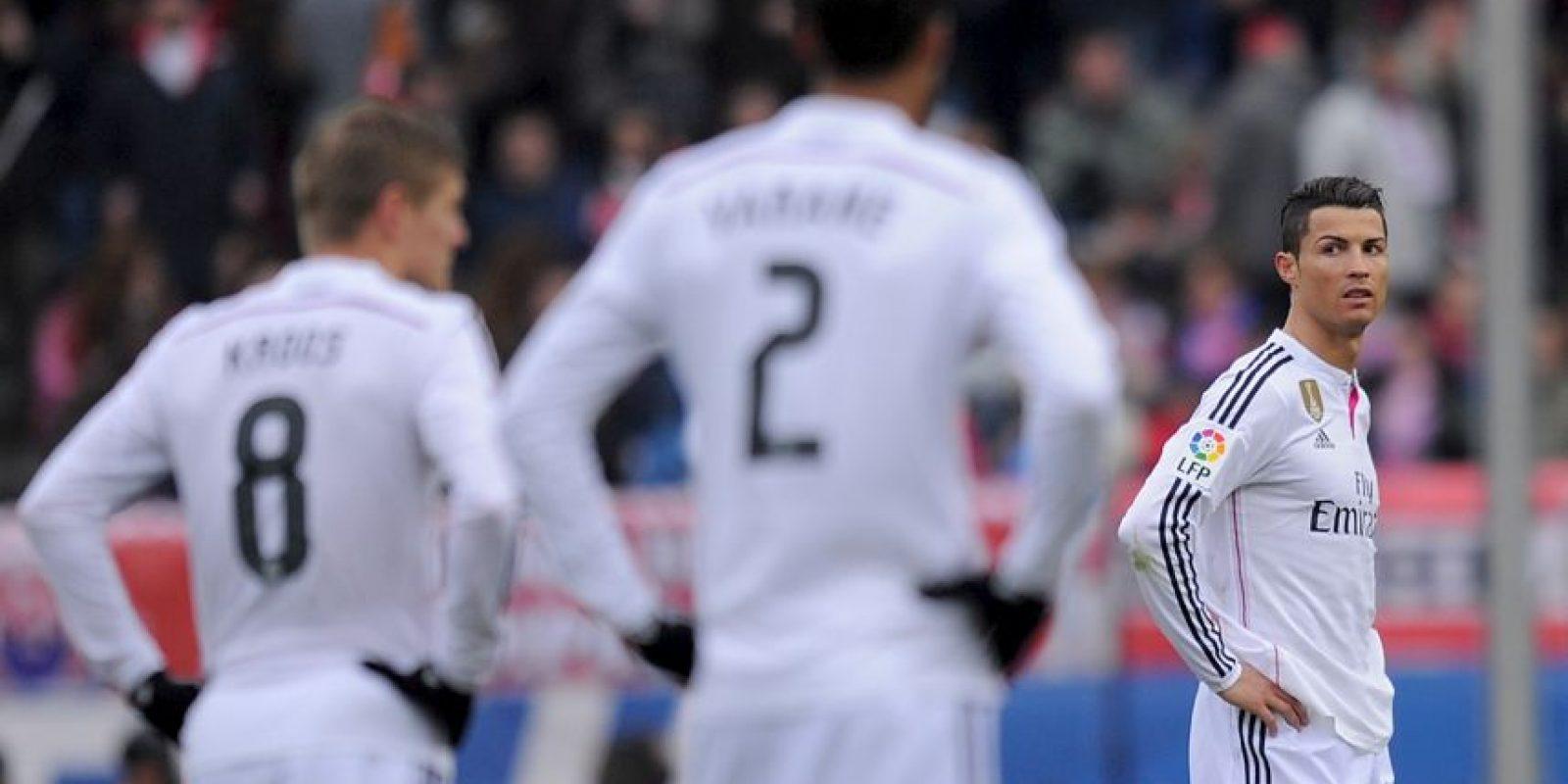 1. La goleada 4-0 que les propinó el Atlético de Madrid el fin de semana pasado tensó el vestidor blanco Foto:Getty