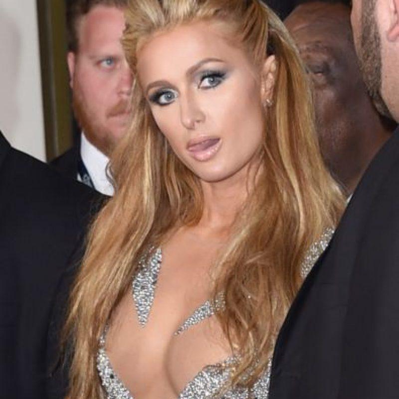 La categoría de Mejor selfie en el baño fue para Paris Hilton Foto:Getty Images
