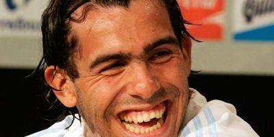 Carlos Tévez – Futbolista argentino de la Juventus de Italia. Foto:Getty Images