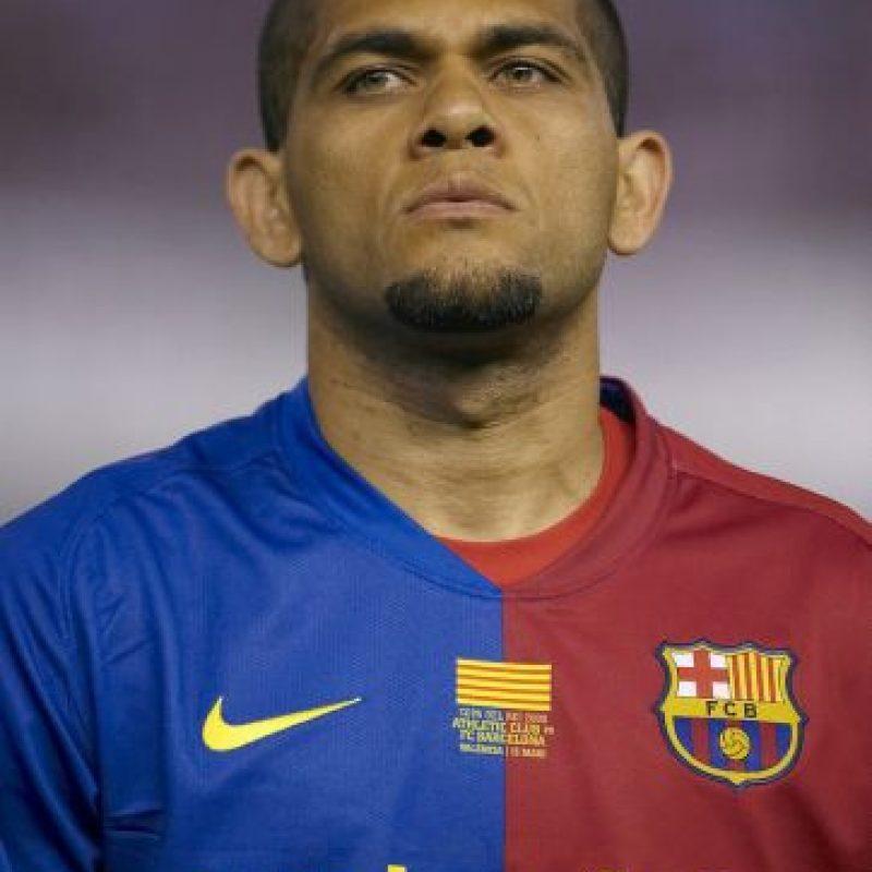 Dani Alves – Futbolista brasileño del Barcelona. Foto:Getty Images