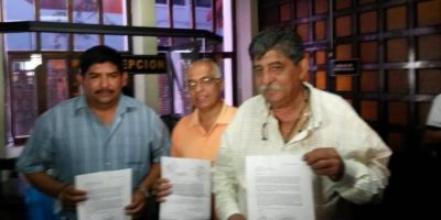 Los alcaldes. Foto:Publinews