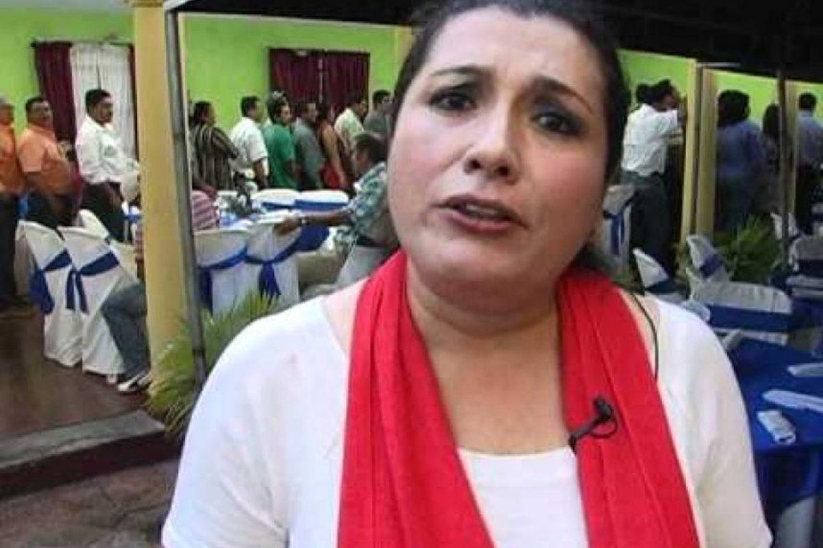 Blanca Alfaro alcaldesa de Masagua, Escuintla. Foto:Publinews