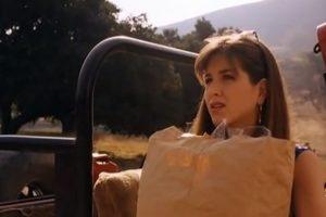 """Aniston en el filme """"Leprechaun"""" 1993 Foto:YouTube"""